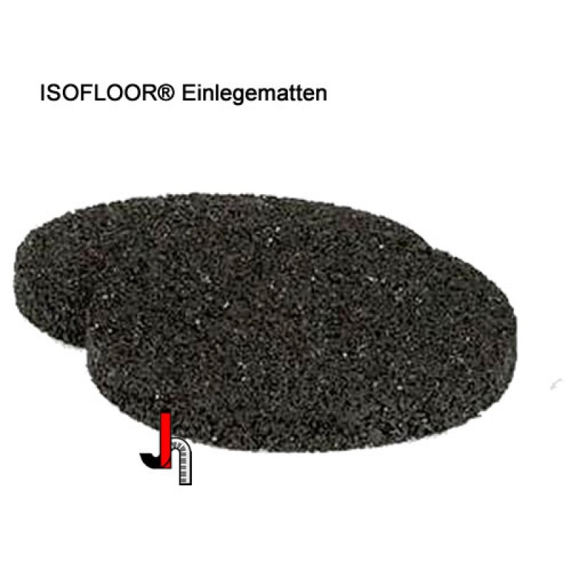 Isofloor® Einlegematte zu Untersetzer mit Ø 80 mm